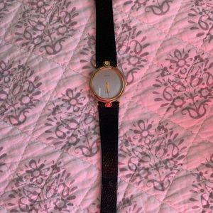 Mans authentic Gucci watch